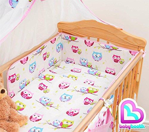 5 Piece Baby Children Bedding Se...