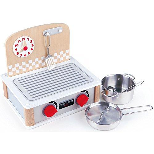 Hape International Set Cocina y Grill para Cocinitas, (E3151)