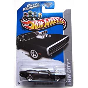 Hot Wheels Hw City Fast & Furious - 70 Dodge Charger R/T