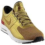 Nike 863700 Air Max Zero QS Chaussures de Sport Doré Taille 41 UK 7