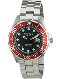 Nautec No Limit Herren-Armbanduhr Deep Sea Bravo DSB AT/STSTRDBK