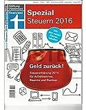 Stiftung Warentest - Finanztest: Steuern 2016 - Sonderheft Februar 2016 -Geld zurück! Steuererklärung 2015 für Arbeitnehmer, Beamte und Rentner. Mit neuen Steuertabellen.