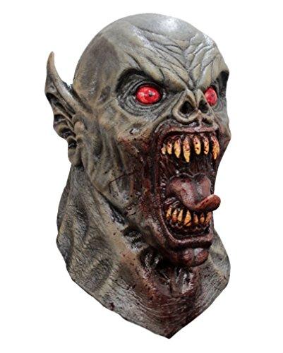 Nosferatu Mitternachts Dämonen Maske für Horror & Halloween Fans (Nosferatu Maske Für Erwachsene)