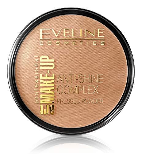 EVELINE ART. MAKE-UP Puder Golden Beige, 14 g