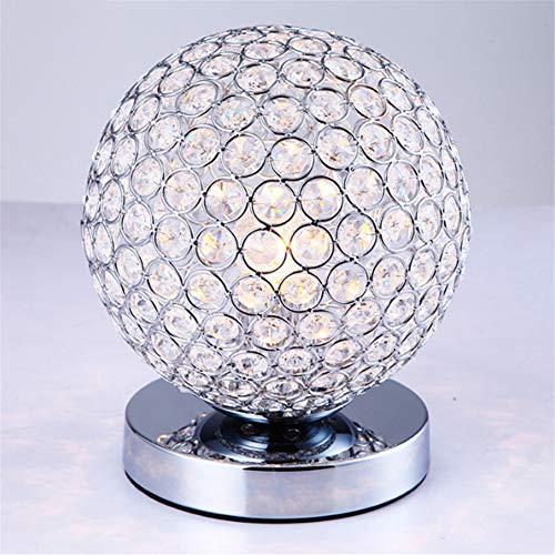 BOJOK Mit LED Moderne Schreibtischlampe Dekoration Marmortisch Glastisch Tischlampe E27 Lampenfassung 110-240V Wohnzimmer/Nachttischlampe Leselampe Touch Lampe