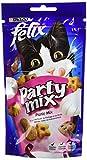 Felix Party Mix Snack per gatto 60g gusto a scelta–Confezione da 8