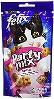 Felix Party Mix Friandises pour chat PicNic Mix 60 g - Lot de 8
