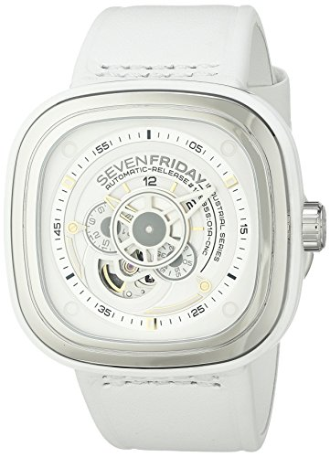 Sevenfriday uomo P1–2Bright analogico display giapponese orologio...