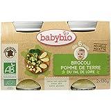 Babybio Pots Brocoli Pomme de Terre 260 g -