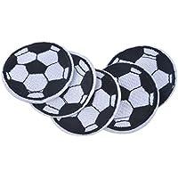 huixun balón de fútbol parches bordados parches para ropa parches de hierro  en fútbol para jeacket 5467ffcb6fb93