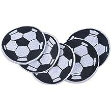huixun balón de fútbol parches bordados parches para ropa parches de hierro en fútbol para jeacket