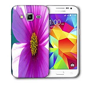 Snoogg Simple Flower Printed Protective Phone Back Case Cover For Samsung Galaxy CORE PRIME