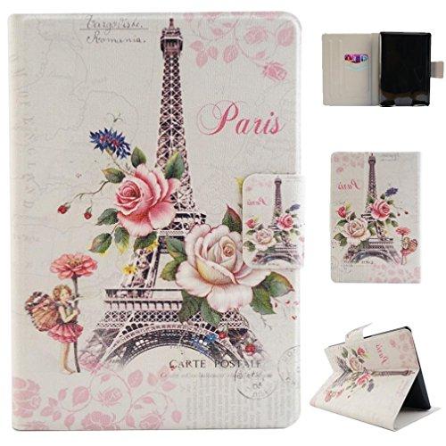 KATUMO® Kindle Paperwhite Étui en Cuir, Ultra Slim Livre Design Flip/Coque Cuir Amazon Kindle Paperwhite 1/2/3Tablette, Ours Blanc Torre