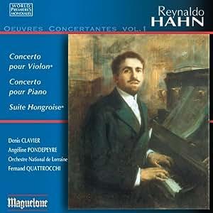 Concertos Pour Violon & Pour Piano - Suite Hongroise