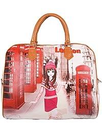 The New Cartoon Cute Hand-held Female Bag Bag Waterproof PU Leather Excursion Girls Receive Luggage Bag Multi...