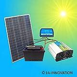 Completo 220V solaranlage Poly TÜV Batteria 100W Solar Modulo 1000W Invertitore Giardino casa Nuovo Solare da Giardino Set Camping Camper Isola System