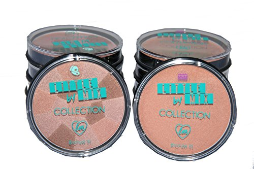 12 x Collection Little Mix Bronze It Powder | 2 shades | Wholesale Clearance by Generic