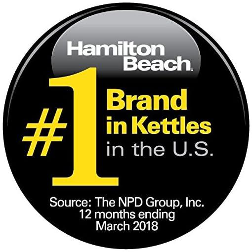 Hamilton Beach 40996 Programmable Kettle, 1.7-Liter