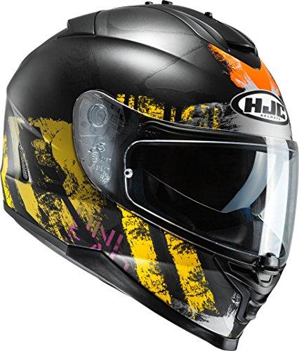 HJC IS-17 - SHAPY / MC3SF - Integralhem/Sporthelm/Motorradhelm, GröàŸe:XXL