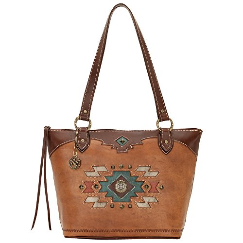 American West , Sac femme Marron - Golden Tan / Antique Brown