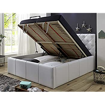 polsterbett betty kunstleder bett mit. Black Bedroom Furniture Sets. Home Design Ideas