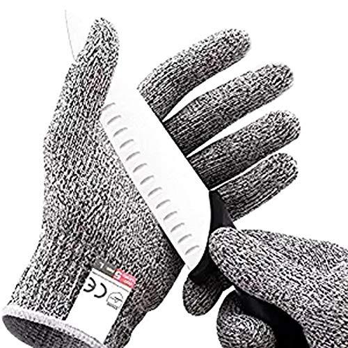ALTcompluser Schnittfeste Handschuhe – Leistungsfähiger Level 5 Schutz, lebensmittelecht.1 Paar(L)