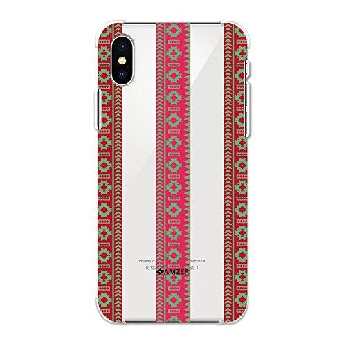 (Amzer Schutzhülle für iPhone X (2017), iPhone XS (2018), Aquamarin und tolle Pink)