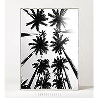 Kunstdruck / Poster THE PALMS -ungerahmt- Palmen, Strand, tropisch, Sommer, Natur, Pflanze, Bäume