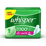 #8: Whisper Ultra Sanitary Pads - 44 Count (Extra Large (XL))