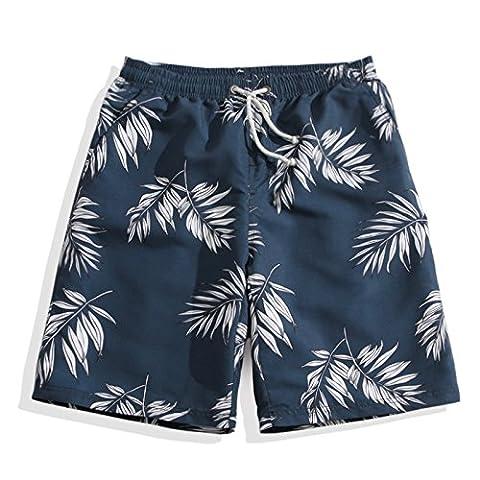 Shorts Hommes Summer Beach Shorts Fleur Plaid Stripe Star Beaucoup de styles Couple costume Vêtements Causal troncs,