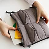 TQWMU Double Layer Gadget Organizer Case, Portable Zippered Pouch For All Small Gadgets, HDD, Power Bank, USB Cables, Power Adapters, Etc