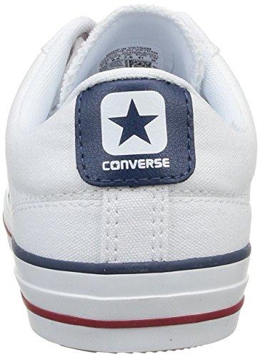 Converse Sp Core Canv Ox 289161-52-10 Unisex - Erwachsene Sneaker Weiß (Weiß)