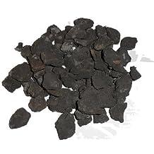Gaz en céramique Noir brillant pour effet que les braises feux gaz lumière que les braises authentique dans les braises 4 You emballage
