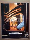 70er Jahre : BECK'S BIER MOTIV RESTAURANT - alte Werbung /Originalwerbung/ Printwerbung /Anzeige /Anzeigenwerbung GROSSFORMAT 21 x 27 cm