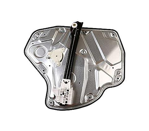 Rear left side power window regulator, driver side rear power