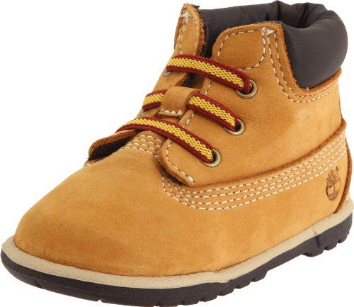 Timberland Unisex Baby 6 Inch Crib Bootie Stiefel, Gelb (Wheat Nubuck), 20 EU (Timberland Stiefel Für Baby 4 Größe)