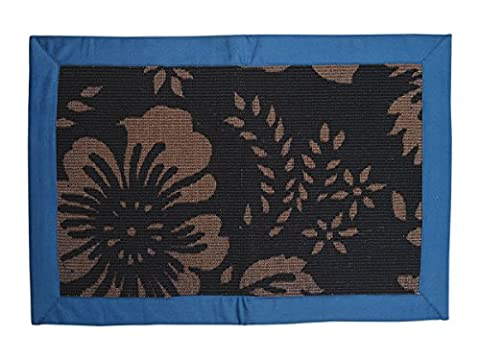 Store Indya Handcrafted Door Mat Made From Cotton
