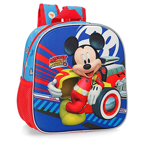 Disney World Mickey Zainetto per bambini 25 centimeters 5.25 Multicolore (Multicolor)