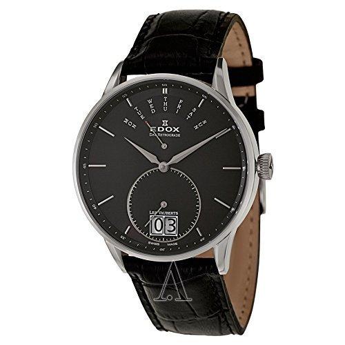 Edox Les Vauberts Men's watches 340053NNIN