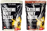 Body Attack Extreme Whey Deluxe, Nut Nougat + Vanille, 1800 g, 2 Stück