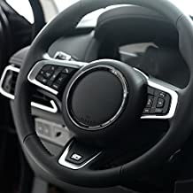 ABS Chrom Lenkrad Dekoration Ring Trim Car Accessories XFL XE f-pace F-car-styling