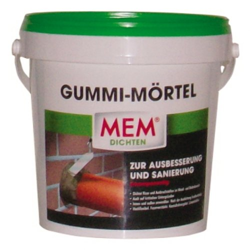 MEM Gummi-Mörtel 1 kg