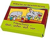 Präpositionen: über, unter, auf, vor... (Bildkarten zur Sprachförderung) - Lena Morgenthau