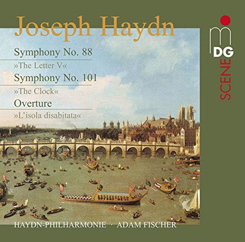 Haydn: Symphonies No. 88 & 101; Overture [SACD]