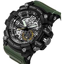 Reloj militar Berfea para hombres, reloj de pulsera impermeable, deportivo, de alta calidad