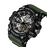 ef81a0d4fad4 berfea Militar reloj hombres relojes impermeable Deporte Reloj para hombre  relojes primera marca reloj de lujo