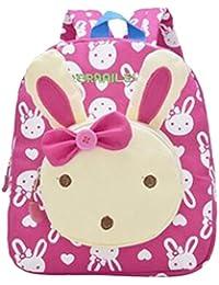 94584619e7 Zaino del bambino del coniglio di Juleya 3D Loverly Ragazzo del libro del  coniglio del libro