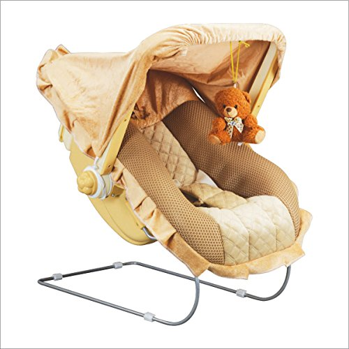 - 51Ww VscvgL - Toyshine 12 in 1 Delux Carry Cot Bouncer with Music, Brown home - 51Ww VscvgL - Home