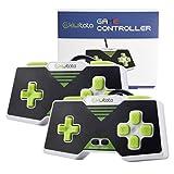 2Stück kiwitatá Retro SNES Super Nintendo USB verkabelter Controller Gamepad für PC Mac