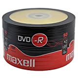 50 Stk. Maxell DVD-R 4,7GB 16x in shrink